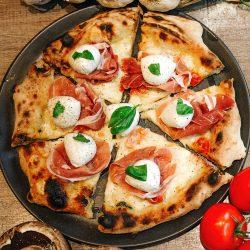 The White Ciliegino pizza ciliegino restaurant Cardiff